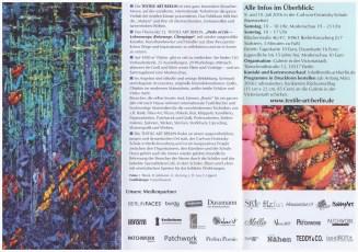 12. Textile Art Berlin - Flyer Innenseite