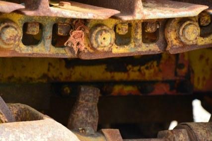Strukturen des Treckers (c) Foto von M.Fanke