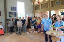 Impressionen von der Ausstellungseröffnung RaumZeitBegegnung Roddahn (c) Foto von Susanne Haun