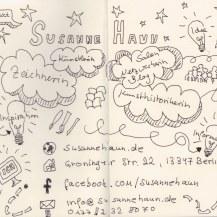 4. Versuch - Kontakt (c) Sketchnote von Susanne Haun