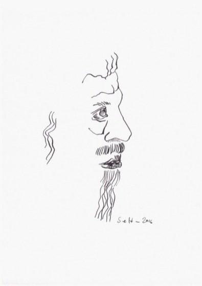 Reiseimpressionen Toskana (c) Zeichnung von Susanne Haun