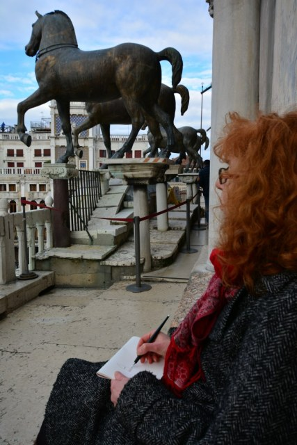 10 Terasse von San Marko in Venedig (c) Foto von M.Fanke