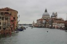 17 Der Ausblick von der Accademia zur Santa Maria della Salute (c) Foto von Susanne Haun