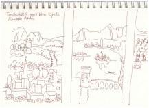 # 2 Interpretation der Rolin Madonna (c) Zeichnung von Susanne Haun