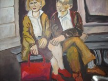 Verheiratet - Mai 2006 - 80 x 100 cm - Acryl auf Leinwand (c) Gemälde von Susanne Haun - Sammlung Claudia Jahnke