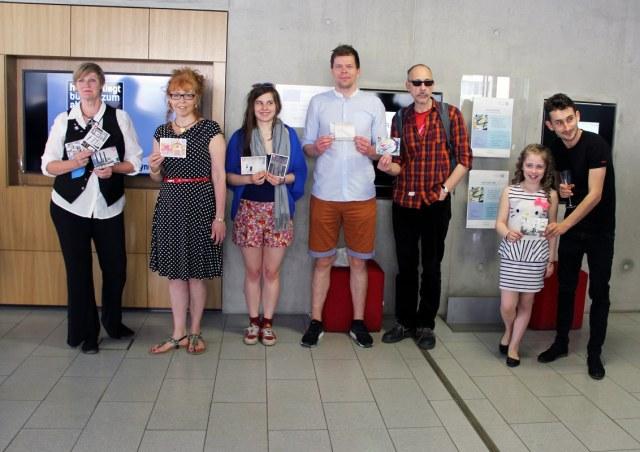 Künstler bei der Eröffnung der Open Air Gallery mein Wedding 4 (c) Foto von Dominique Hensel , weddingweiser