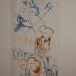 Entstehung Sketchnote Arktis auf Leinwand 215 x 95 cm (c) Zeichnung von Susanne Haun