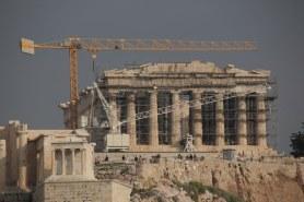 Athen Auf dem Filopappou - Blick auf die Akropolis (c) Foto von M.Fanke