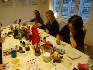 2 Impressionen Weihnachts-Workshop bei Susanne Haun (c) Foto von Susanne Haun.JPG