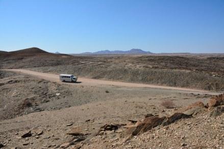 Im Schiefergebirge in Namibia (c) Foto von M.Fanke
