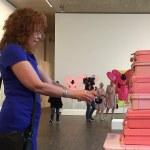 Biografische Skulptur N°1 von Eva und Adele im me collectors room, Foto von Doreen Trittel