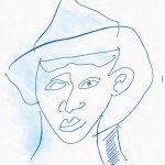 Portrait Nr. 13 (c) Zeichnung iPad von Susanne Haun