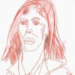 Portrait Nr. 15 (c) Zeichnung iPad von Susanne Haun