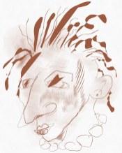 Portrait Nr. 6 (c) Zeichnung iPad von Susanne Haun