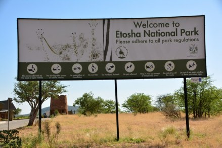 Galton Entrance Gate, Etosha Nationalpark (c) Foto von M.Fanke