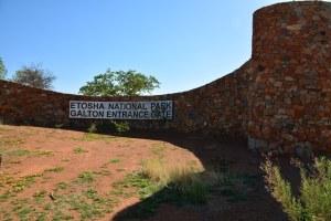 Galton Entrance Gate, Etosha Nationalpark (c) Foto von M.Fanke