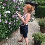 Zeichnen in Papas Garten (c) Foto von M.Fanke