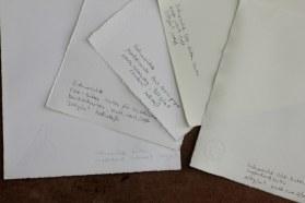 Kupferdruckpapier von Hahnemühle (c) Foto von Susanne Haun