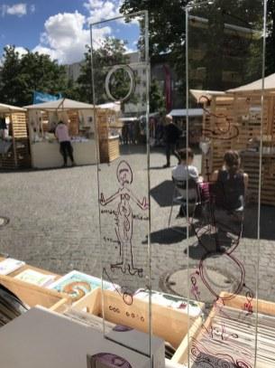 Praesentation auf dem Weddingmarkt (c) Foto von Susanne Haun