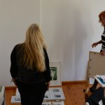 Impressionen vom KunstSalon bei Susanne Haun mit Utz Benkel und Rosie Geisler (c) Foto von M.Fanke