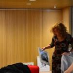 liothek, Ausstellung Querbrüche Obdachlos, Susanne Haun Meike Lander © Foto von M.Fanke