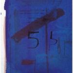 Farbkarte Nr. 2 zum Portrait, Aquarellkarton, 32 x 24 cm, Zeichnung von Susanne Haun (c) VG Bild-Kunst, Bonn 2019