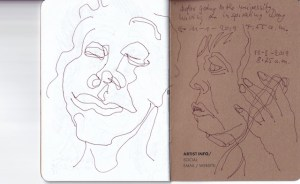 B141385 Page 17 - Susanne Haun - The Sketchbook Project and Brooklyn Art Library