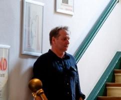 Hans Hilmar Koch von der Galerie Blickwinkel Schwerin