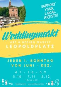Weddingmarkt am 3. Oktober 2021