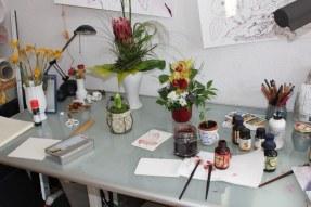 Vernissage - Salon - Blumen (c) Foto von Susanne Haun