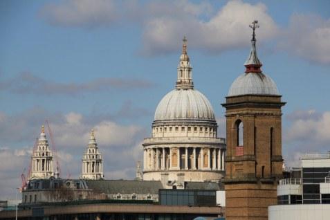 St. Paul London von der South Bank aus gesehen (c) Foto von Susanne Haun