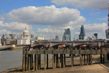 London Skyline von der South Bank aus gesehen (c) Foto von Susanne Haun