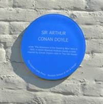 Happisburgh Sir Athur Conan Doyle war im Wirtshaus (c) Foto von M.Fanke