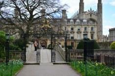 Die Pforte vom Campusgelände Cambridge (c) Foto von M.Fanke