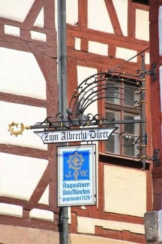 Die Nürnberger würdigen ihren berühmten Sohn der Stadt (c) Foto von M.Fanke