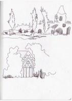 1 Wörlitzer Gartenreiche (c) Zeichnung von Susanne Haun