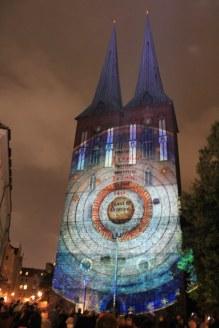 Nikolaikirche - Festival of Lights (c) Foto von Susanne Haun