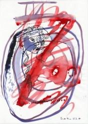 #3-4 Helena - 20 x 30 cm - Tusche und Aquarell auf Zeichenpapier (c) Zeichnung von Susanne Haun