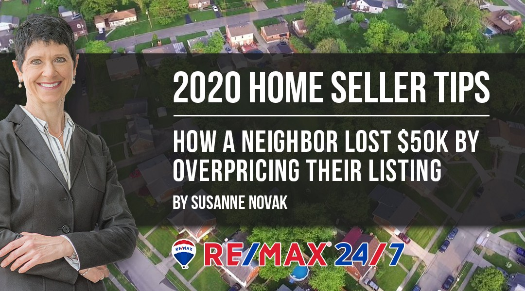 How a Neighbor Lost $50K by Overpricing their Listing