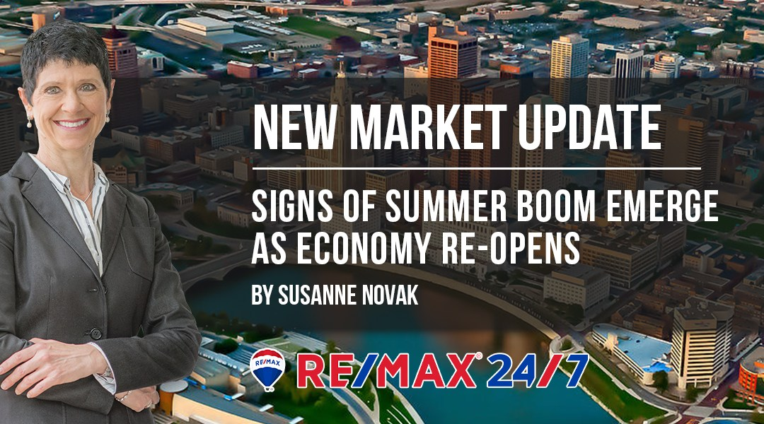 Market Update: Signs of Summer Boom Emerge as Economy Re-Opens
