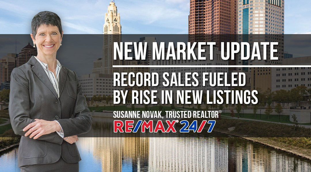 Market Update: Record Sales Fueled by Rise in New Listings