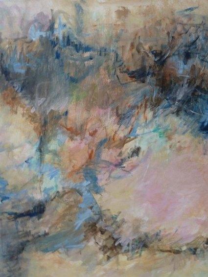 Landschaft in Rosé, 2002002Eitempera auf Leinwand, 2002100 x 120