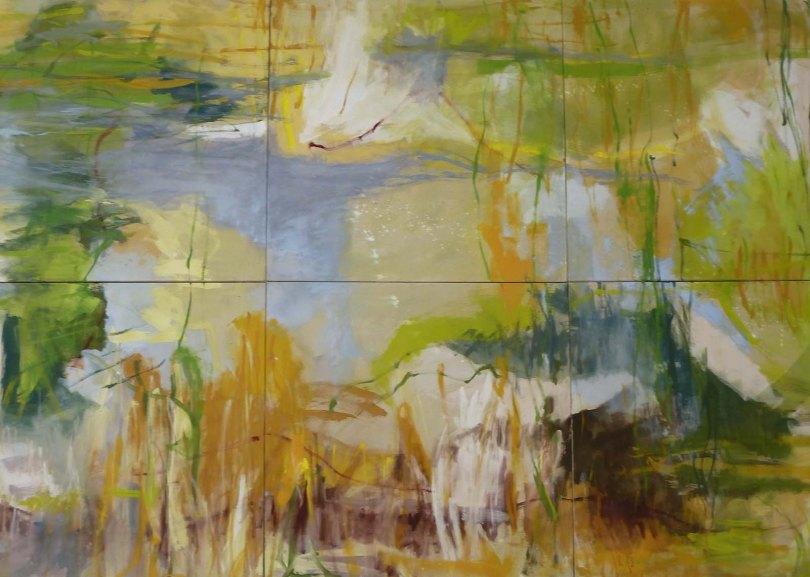 Natürlichkeiten, 2011, Eitempera a. Lw.nd, 20116- teilig, je 90 x 90