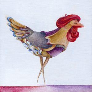 Artist Chicken