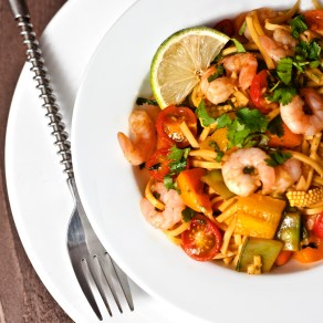 Prawn Chilli Lime Noodles