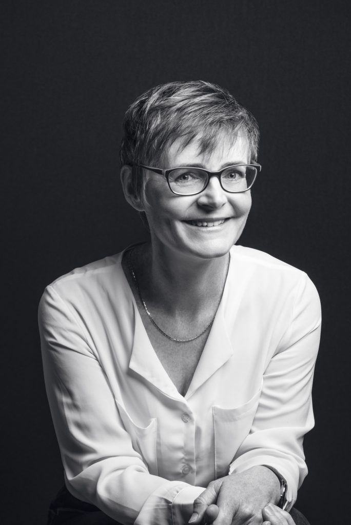 corporate photograph of a woman