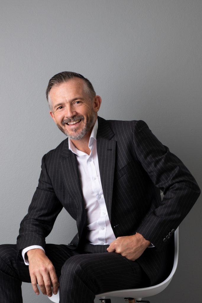 successful business man corporate portrait