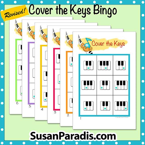 Keyboard Bingo for beginners