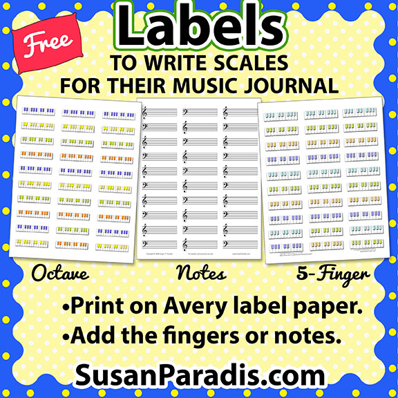 This is a picture of Piano Key Stickers Printable throughout alphabet