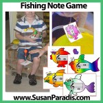 Fishing Note Game
